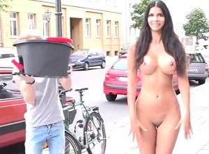 Challenge photo naked